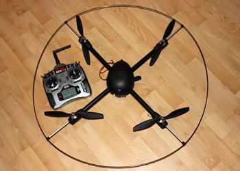 Радиоуправляемый квадрокоптер Gaui 500X